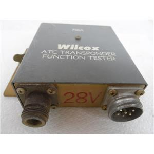 Wilcox Electric Company P/N 97534-100 ATC Transponder Function Tester