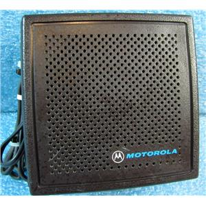 MOTOROLA HSN6001B SPEAKER FOR 2-WAY RADIO CAR/DESK/ETC INSTALL - USED w/GUARANT