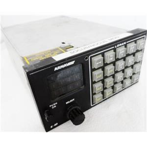 ARNAV SYSTEMS 453-0089-Y3 MODEL R-40 LORAN RECEIVER