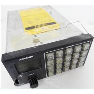 "ARNAV 453-0089-U3 MODEL R-40 LORAN RECEIVER, TAGGED ""UNSERVICEABLE ON/OFF KNOB"