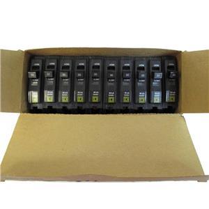 Square D QO130 Plug-on Circuit Breakers 1Pole, 30Amp,  **Box of 10**
