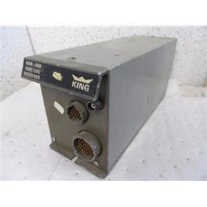 King Radio KNR 600 VOR/LOC Nav Receiver P/N 066-1010-00