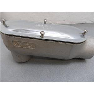 """Crouse-Hinds 2"""" LB68 ? Conduit Body With Cover 680"""