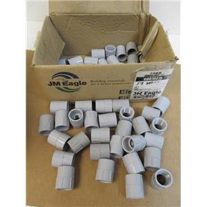 "Box of 59 JM Eagle  60070075  3/4"" UL Female Adapter for Rigid PVC Conduit   NEW"