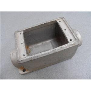 """Crouse-Hinds 1"""" FDC3 Explosion Proof Cast Iron Device Box No Cover"""