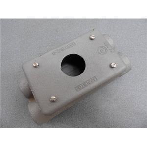 Appleton Unilet Type FSCD Cast Iron Device Box 4 Hub With Cover New