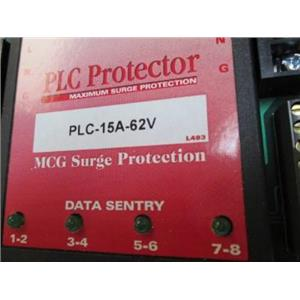 MCG Surge Protector  PLC-15A-62V  Maximum Surge Protector  Data Sentry AC Sentry
