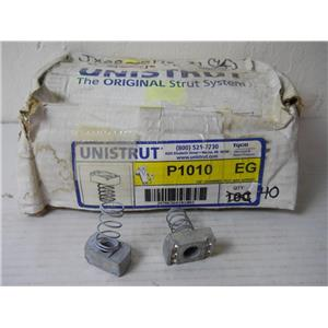 """40 Tyco Unistrut P1010 EG 1/2"""" Channel Nut with Spring - at least 40 pieces"""