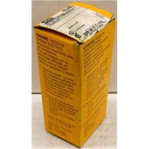 HUBBELL HBL4560 HBL 4560 AC RECEPTACLE, NEMA L6-15, BLACK NYLON, SINGLE GANG, 2