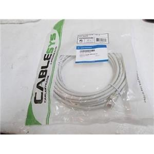 Agilent CableSys 8121-0940 Cable w/conn,80-1000V,telecom  Patch Cord 25Ft, White