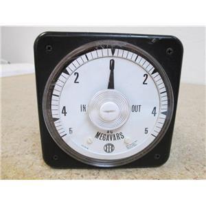 ITE A-C Megavars Meter  3G003 Variation Meter  NCR 3P-019  WO 83300969  **USED**