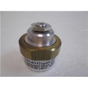 Hewlett Packard Agilent 19243-60650 1cc/min 100psi Inlet Purge Regulator