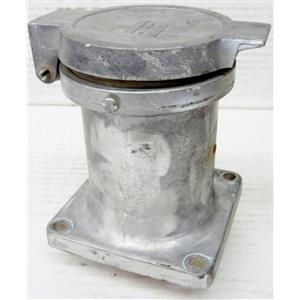 CROUSE HINDS [NO MODEL #] 20881-A HEAVY SERVICE ELECTRIC POWER RECEPTACLE - SEE