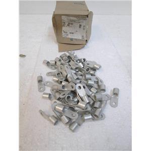 TYCO 52197 Straight, Closed, Barrel Ring Tongue Terminal  Qty:75 in Box **NIB**