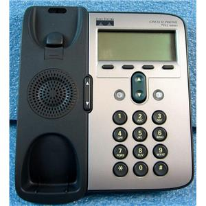 CISCO CP-7912G-A 7912 7900 SERIES IP PHONE TELEPHONE, NO HANDSET, BASE UNIT ONL