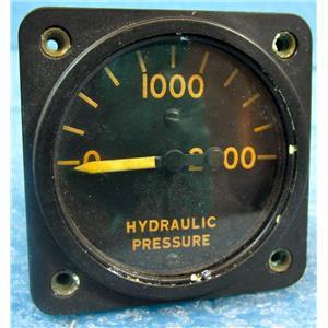 ELECTRIC AUTO-LITE AC-26281 10058-A HYDRAULIC PRESSURE GAUGE (GUAGE, GAGE), AIR