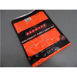 Radwear High Visibilty Class 2 Safety Vest SV60 Size 2X Orange New