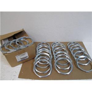 "Box of 25 Thomas & Betts LN110 Galvanized Steel Locknuts for 4"" Rigid Conduit"