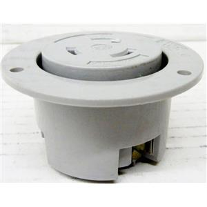 PASS AND SEYMOUR NEMA L6-20 L6-20R ELECTRIC POWER RECEPTACLE, 20A 250V, 20 AMP