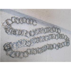 """Thomas & Betts Galvanized Steel Locknuts for 1/4"""" Rigid Conduit  Qty 74  *NEW*"""