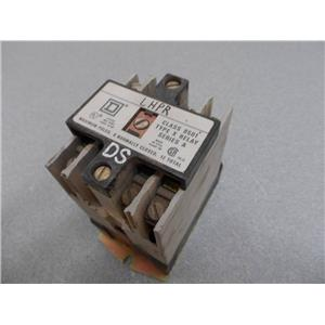Square D Class 8501 Type X0 40 Relay Series A, Form DS