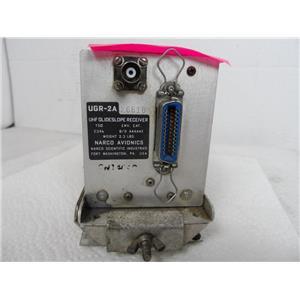 Narco Avionics UGR-2A 26610 UHF Glideslope Receiver W/Tray