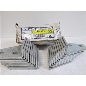 Box of 19 Tyco/Unistrut P1381 EG Gusset 90 Degree Angle Fitting