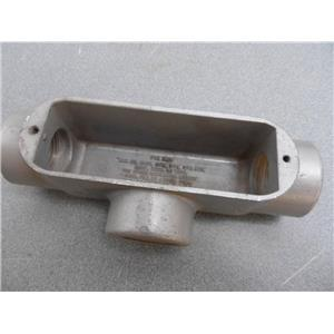 "Halex? E30640 1"" T Conduit Body New No Cover"