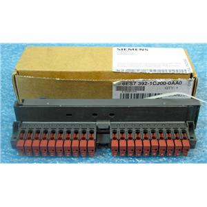 SIEMENS 6ES7 392-1CJ00-0AA0 FRONT CONNECT, F SM 20-PIN FASTCONNECT - NEW SURPLU
