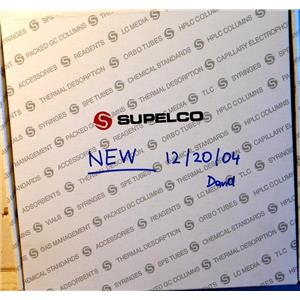 SUPELCO SPB-5 FUSED SILICA CAPILLARY COLUMN, 30m X 0.25mm X 0.25um FILM THICKNE