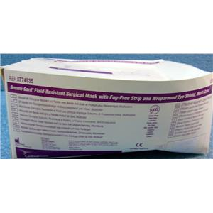 #2 *25pc/BOX* CARDINAL HEALTH AT74635 SECURE-GARD FLUID-RESISTANT PROCEDURE MAS