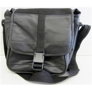 BLACK MULTIUSE PLEATHER BAG