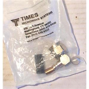 TIMES MICROWAVE SYSTEMS TC-240-NMH-RACA N MALE (PLUG) RT ANGLE FOR LMR-240 NEW