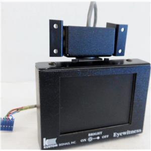 KUSTOM SIGNALS 155-3383-00 LCD MONITOR FOR EYEWITNESS DASHCAM DASH CAMERA CAR S