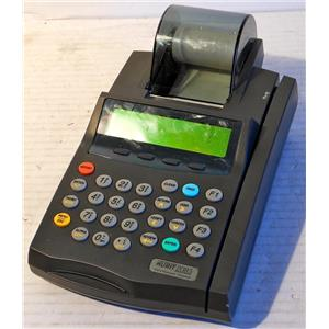 VERIFONE NURIT 2085 CREDIT CARD TERMINAL PROCESSOR WITH PRINTER, NO POWER ADAPT