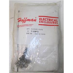 Hoffman F-44wpss Closure Plate  **New in Package**  783510-15470