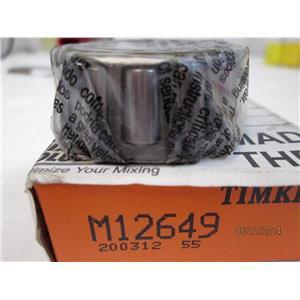 TIMKEN TAPERED ROLLER BEARING M12649