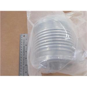 "ISO LF-100 ST/ST 6"" Flexible Bellows High Vacuum Hose (4"" ID)"