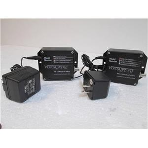 Lot of 2 VideoSupport TX 101 Video Transmitter  Bubble wrapped with Power Supply
