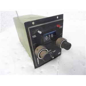Aircraft Radio Corp. ADF 800 Control Unit C-846A P/N 40220-1000