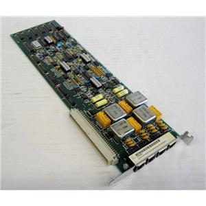 VOYSYS 3000961-4 QUAD PROGRAMMABLE L/S INTERFACE CARD BOARD MODULE FOR PHONE SY
