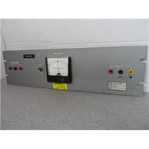 Avionics Test Panel Null Meter Mfr. A.A.I.S. P/N INS35