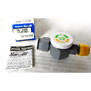 """SPORLAN SA-14FM SEE-ALL LIQUID AND MOISTURE INDICATOR, 1/2"""" CONNECTION, HALF IN"""
