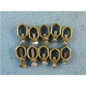 """1/2 - 5/8"""" Grounding Clamp * Lot of 10*"""