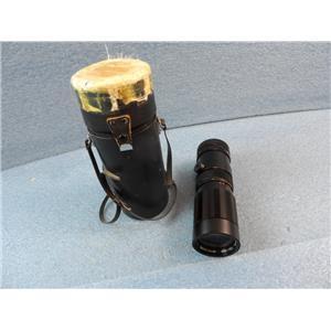 Soligor Auto-Zoom Lens 1:4.5  f = 80-230mm  58  No. 17109090 W/ Case