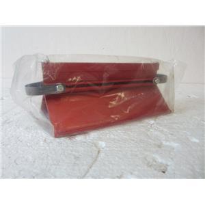 "#2 DAEDALON CORP TRACK GLIDER, RED 7-1/2"" LONG, CLASSROOM PHYSIC TEACHING COMPO"