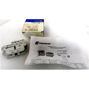 COPELAND 912-0001-14 CONTACTOR FOR REFRIGERATION COMPRESSOR, 2 NO, SERIES A-2 -