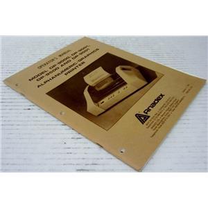 ANADEX OPERATOR'S MANUAL FOR MODEL DP-9000, DP-9001, DP-9500 AND DP-9501 ALPHAN