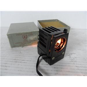 American Optical No. 610 Starlite Illuminator Microscope Illuminator Orig. Box