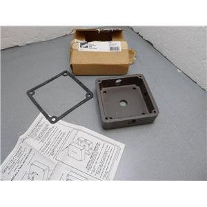 Stonco Surface Conduit Box RL11 Wall Plate Only Genlyte/Thomas Roadway Series